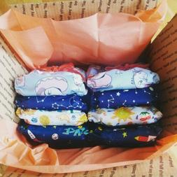 10 Modern Cloth Diaper Lot, all-in-ones
