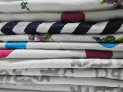 100 Double Layer Cotton Flannel New born baby absorment burp