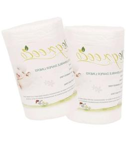 100 percent bamboo unscented biodegradable diaper liners