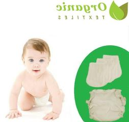 100% Organic Cotton Fitted Diaper |Organic Textiles