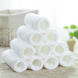 10pcs cotton cloth baby diapers inserts liners