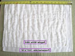 100% Cotton Chinese DSQ prefold diapers REGULAR  4/6/4 white