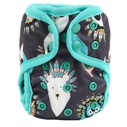 2018 NEWBORN Cloth Diaper Cover Baby Nappy Reusable 2 Gusset