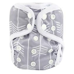 2018 NEWBORN Cloth Diaper Cover Baby Nappy Reusable 2 Leg Gu