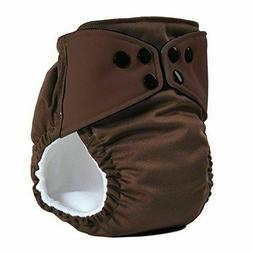 3 Cloth Diapers All in One Reusable with Organic Soaking Pad