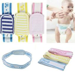 3pcs Fasteners Diaper Strap Fixing Belt Newborn Baby Diaper