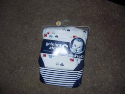 Gerber 3T potty training pants trainers colorful cars