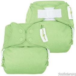 bumGenius 4.0 One-Size Cloth Diaper: Grasshopper - Snap or H