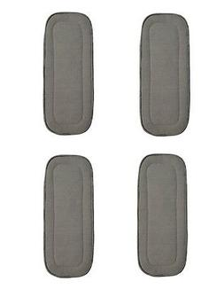 """4 PACK BAMBOO CHARCOAL INSERTS 5 LAYERS LARGE 14"""" X 5' FITS"""