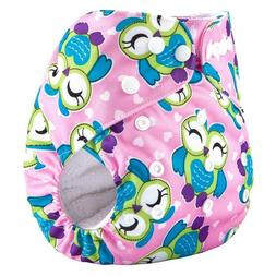 5 lot Baby girl diapers Cloth Pocket Diapers Reusable Washab