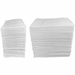 50 Count Covers - White 3-Ply Baby Public Changing Table Lin