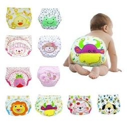 5Pcs Infant Toddler Baby Toilet Training Diaper Pants Waterp