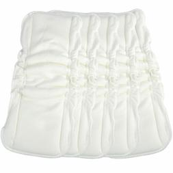 5x Baby Diapers 3 Layers Ultrafine Fiber Bamboo Cotton Diape
