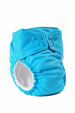 6 Cloth Diapers All in One with Organic Soaking Pad Made in