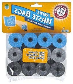 Arm & Hammer Easy-Tear Disposable Waste Bag Refills Assorted