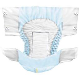 80/Case! X-Large Adult Disposable Briefs Diapers Regular Clo