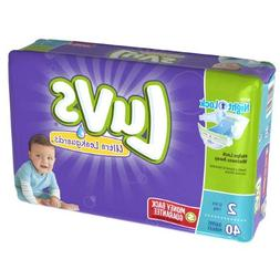Tide 85923 Diapers  Size 2: 12 to 18 lbs  40/Pack  2 Pack/Ca
