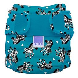 Bambino Mio, Miosoft Cloth Diaper Cover, Zebra Crossing, Siz
