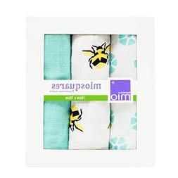 Bambino Mio, Miosquares  27.5 in x 27.5 in, Bumble, 3 Pack