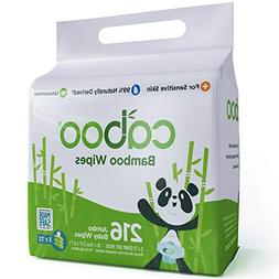 Caboo - Bamboo Baby Wipes Value Pack - 216 Wipe