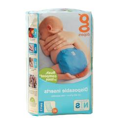 GDiapers: Flushable Refills Small, 40 ct