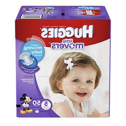 Huggies Little Movers Diapers - Size 5-50 ct
