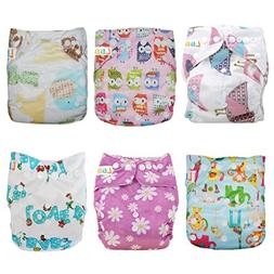 LBB Baby Reusable Cloth Diapers with adjustable snapps fit G