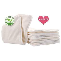 Love My Baby Cloth Diaper 12pcs 4layers Super Water Absorben