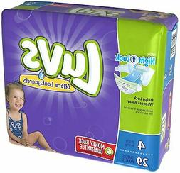 Luvs with Ultra Leakguards, Size 4 Diapers, 29 ea