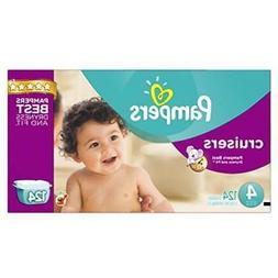 Pampers Cruisers Disposable Diapers Size 4, 124 Count, ECONO