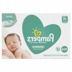 Pampers Wipes 16X Refill, 1024 ct