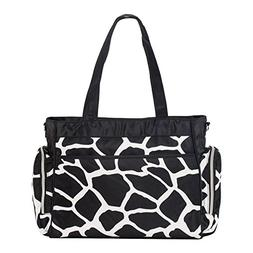 SoHo diaper bag Little Giraffe 8 pieces set nappy tote bag l