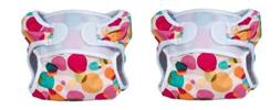adjustable cloth diapers 2 pack bubbles x