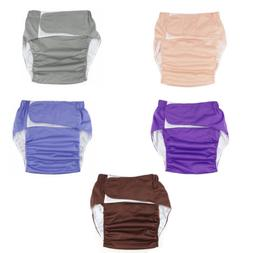 Adult Diapers Waterproof Reusable Cloth Nappy Adjustable Buc