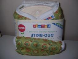 Bummis All in 2 deluxe cloth diaper pack new green