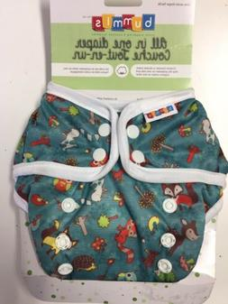 Bummis All-In-One Cloth Diaper - One Size - 8-35 Pounds - Fo