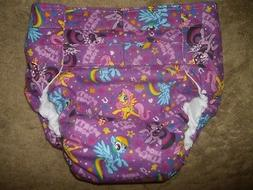 Dependeco All In One flannel adult diaper S/M/L/XL
