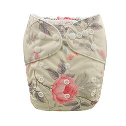ALVABABY Cloth Diaper One Size Adjustable Reuseable Washable