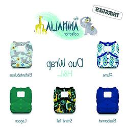 animalia cloth diaper collection