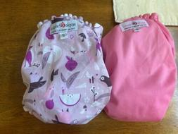 Applecheeks Diapers Cloth All In One Pocket Lavender Pink Si