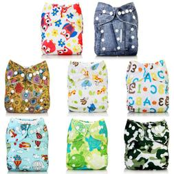 Baby Alva Baby Washable Reusable Cloth Diapers Nappies Pocke