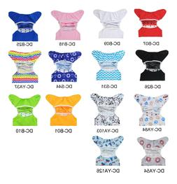 ALVABABY Baby Cloth Diapers Covers Reusable Waterproof Newbo