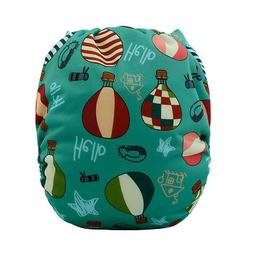 Alvababy Baby Cloth Diapers Reusable Pocket Washable Nappies