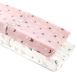 Baby Changing Table Pad Cover Contoured Diaper Change Changi