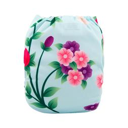 ALVABABY Cloth Diaper One Size Girl Reusable Washable Pocket