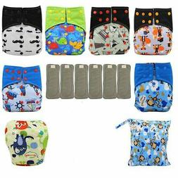 baby cloth diaper washable reusable all in
