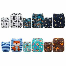 Cloth Diapers One Size Adjustable Washable Reusable for Baby