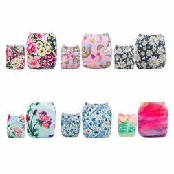 Baby Cloth Diapers One Size Adjustable Washable Reusable for