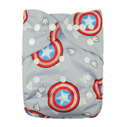 ALVABABY Cloth Diapers One Size Reusable Washable Pocket Nap