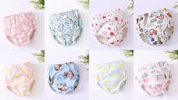 Baby Cotton Training Pants Waterproof Cloth Diapers Reusable